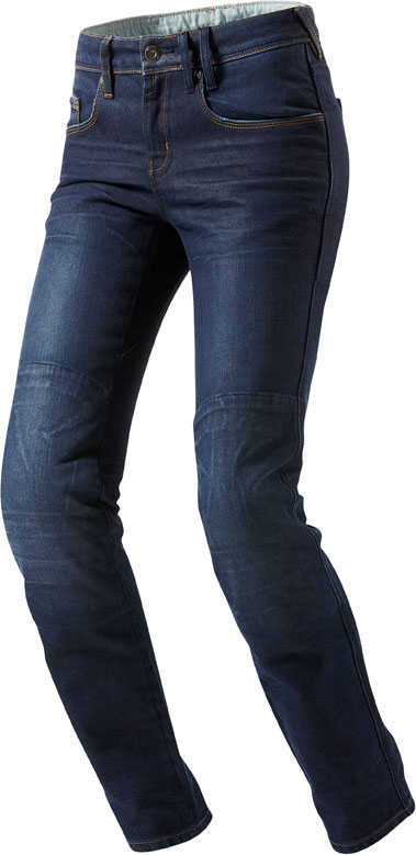Jeans moto donna Rev'it Madison Ladies blu medio L32