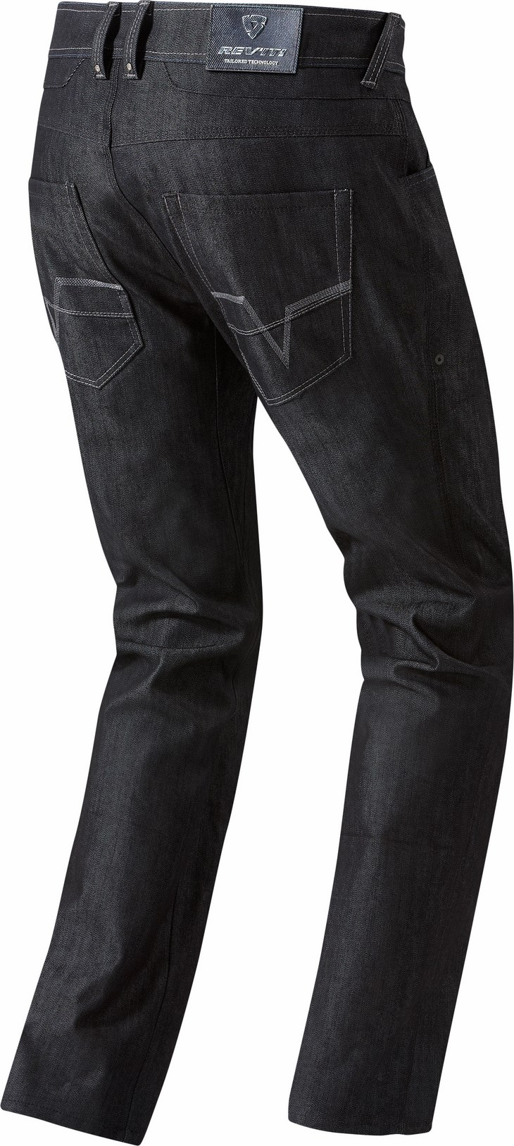 Jeans moto Rev'it Memphis H2O Blu scuro Allungato