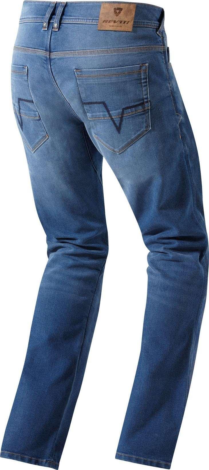 Jeans moto Rev'it Jersey Blu chiaro L36