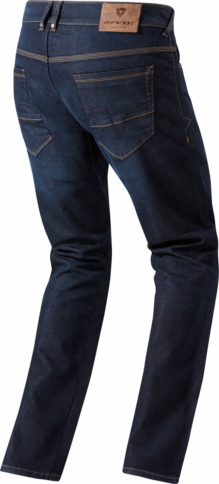 Jeans moto Rev'it Philly Blu scuro Accorciato