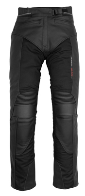 Pantaloni moto donna in pelle Rev'it Gear - Accorciato