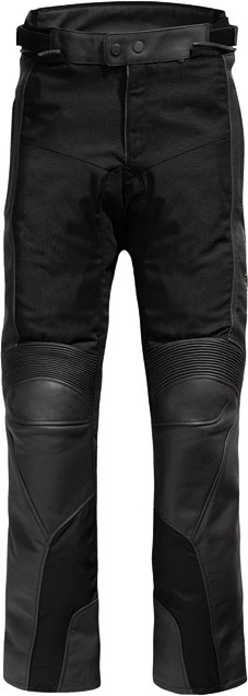 Pantaloni moto pelle Rev'it Gear 2 neri - accorciati