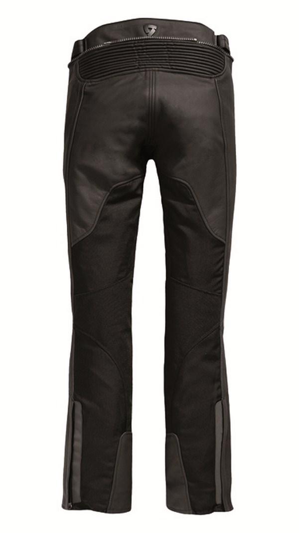Pantaloni moto pelle donna Rev'it Gear 2 Nero