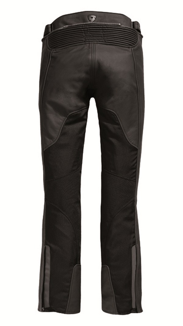 Pantaloni moto pelle donna Rev'it Gear 2 Nero - Allungato