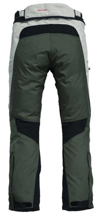 Pantaloni moto Rev'it Cayenne Pro Verde scuro-Grigio - Allunga