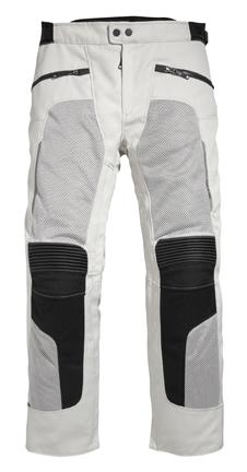Pantaloni moto Rev'it Tornado Argento - Accorciato