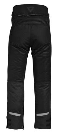 Pantaloni moto donna Rev'it Tornado Nero