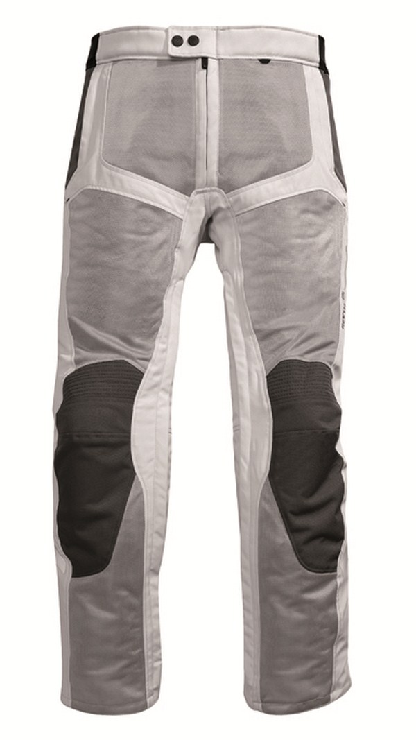 Motorcycle pants Rev'it Airwave Silver Anthracite - Shorted