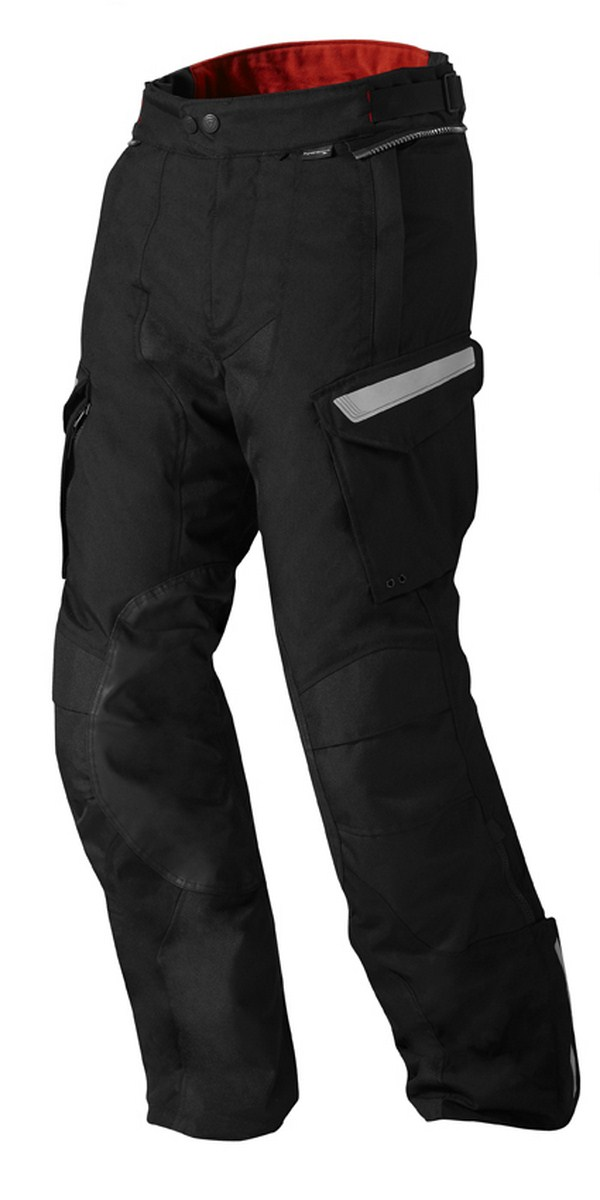 Pantaloni moto Rev'it Sand 2 Nero - Accorciato