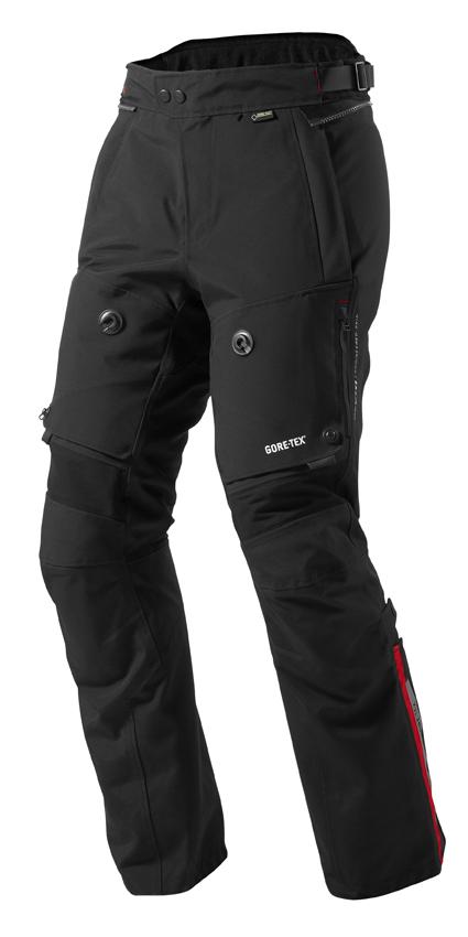 Pantaloni moto Rev'it Poseidon GTX Nero - Accorciato