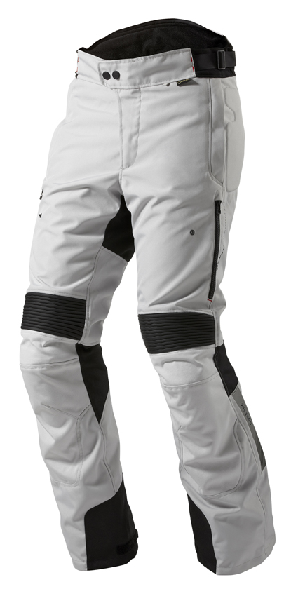 Motorcycle trousers Rev'it Neptune GTX Black Silver