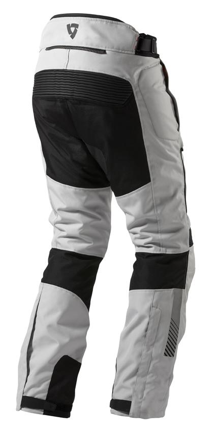 Motorcycle trousers Rev'it Neptune GTX Black Silver - Elonga