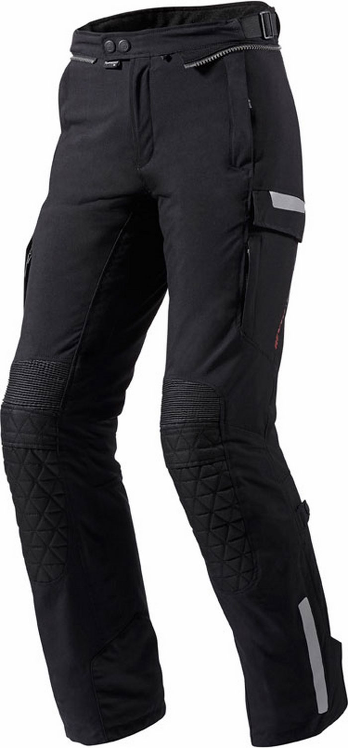 Motorcycle trousers woman Rev'It Sand Ladies Black Shortened
