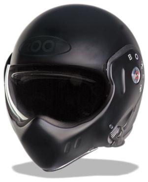 Roof Boxer RO5 Classic flip off helmet Matt Black
