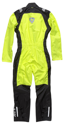 Rainsuit Rev'it Pacific H2O Black-Neon Yellow