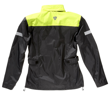 Jacket Rev'it Nitric H2O Black-Neon Yellow