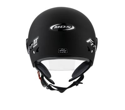 MDS by Agv Free II Multi Mono open face helmet col. matt black