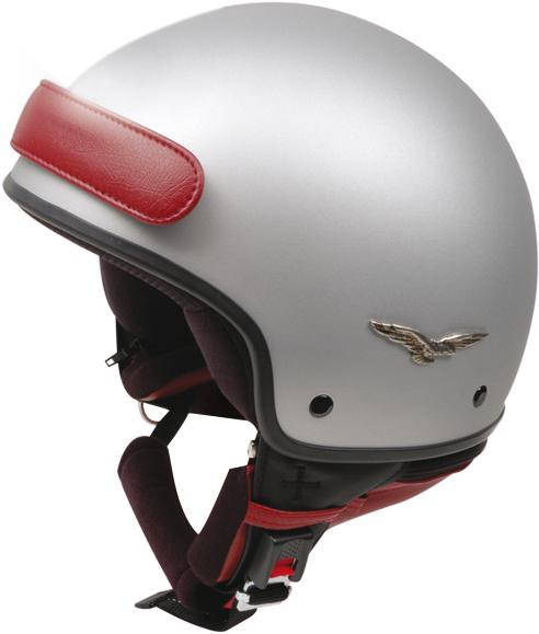 Caberg Freedom demi-jet helmet matt silver