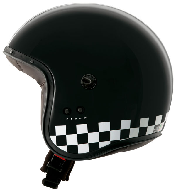 Caberg Freeride Indy jet helmet Black White