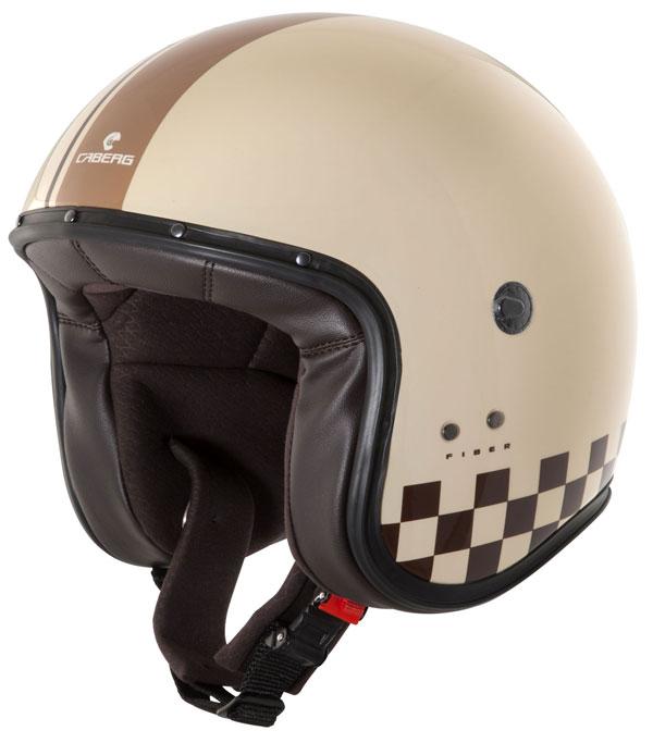 Caberg Freeride Indy jet helmet Cream Brown