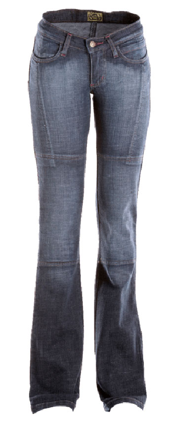AXO motorcycle Draggin Jeans woman Minx Blue