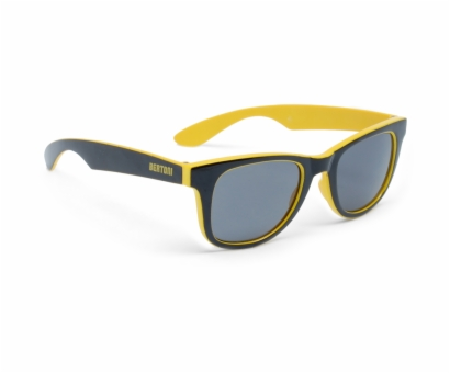 BERTONI FT46B Freetime Glasses - Col. Black/Yellow