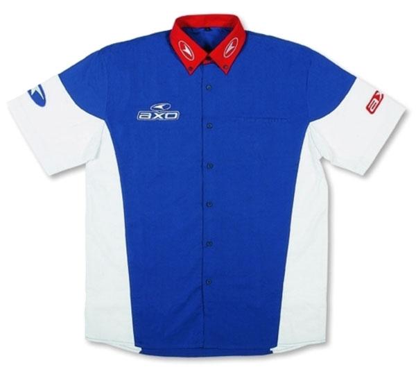 Camicia a maniche corte AXO Rider Support Bianco