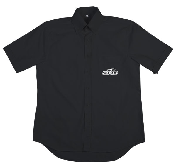 Short Sleeve Shirt Corporate AXO Black