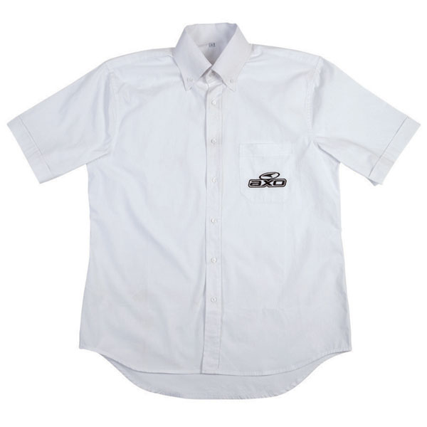 Short Sleeve Shirt White Corporate AXO