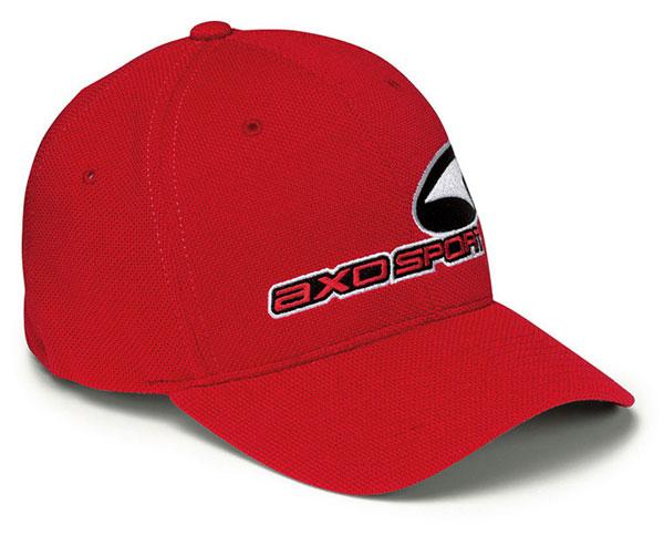AXO Sport Red Hat Piquet flexfix
