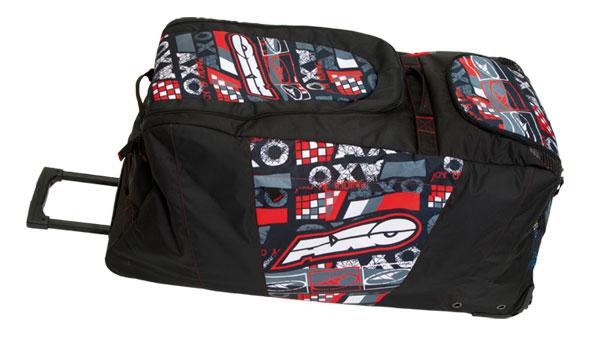 AXO MX WPL bag trolley bag Black Grey Red