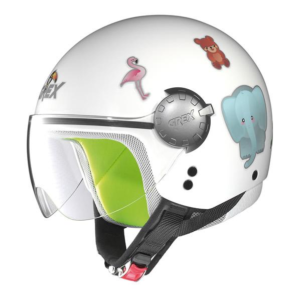 Demi-jet helmet child Grex G1.1 Teeny white