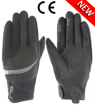 Oj Avenue textile gloves black