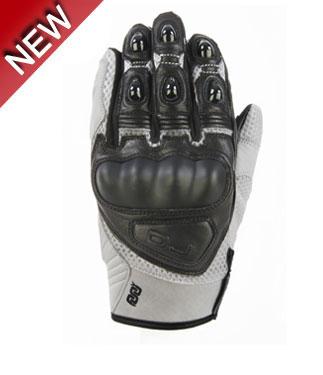 Oj Blink summer leather gloves white