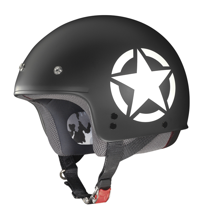 Helmet demi jet Grex G2.1 Army flat  black