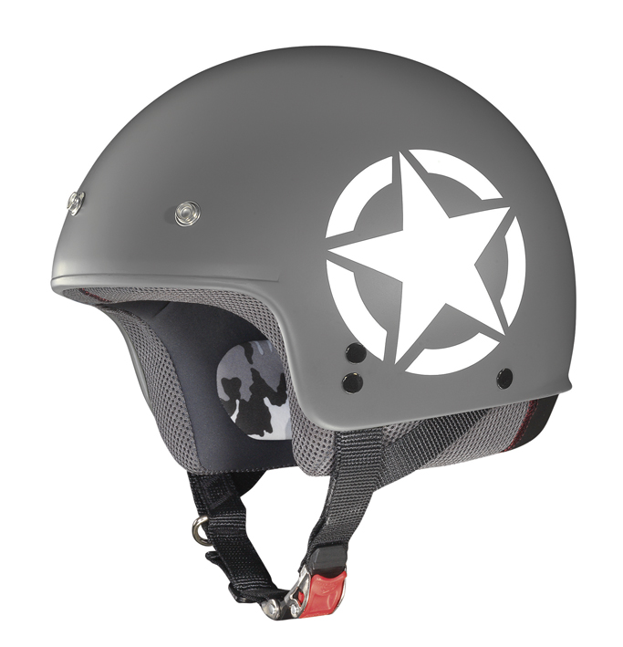 Casco demi jet Grex G2.1 Army flat cool grey