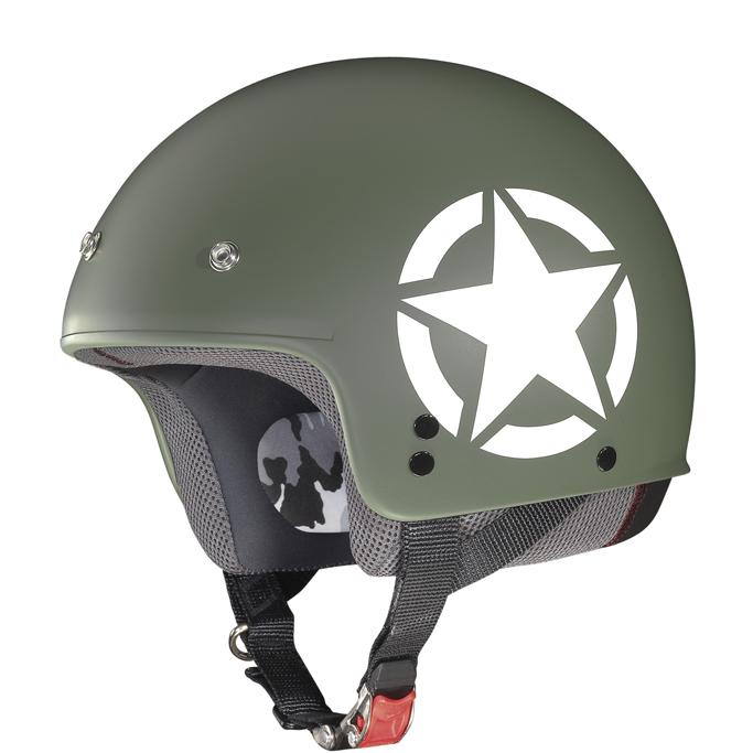 Helmet demi jet Grex G2.1 Army flat military cool grey