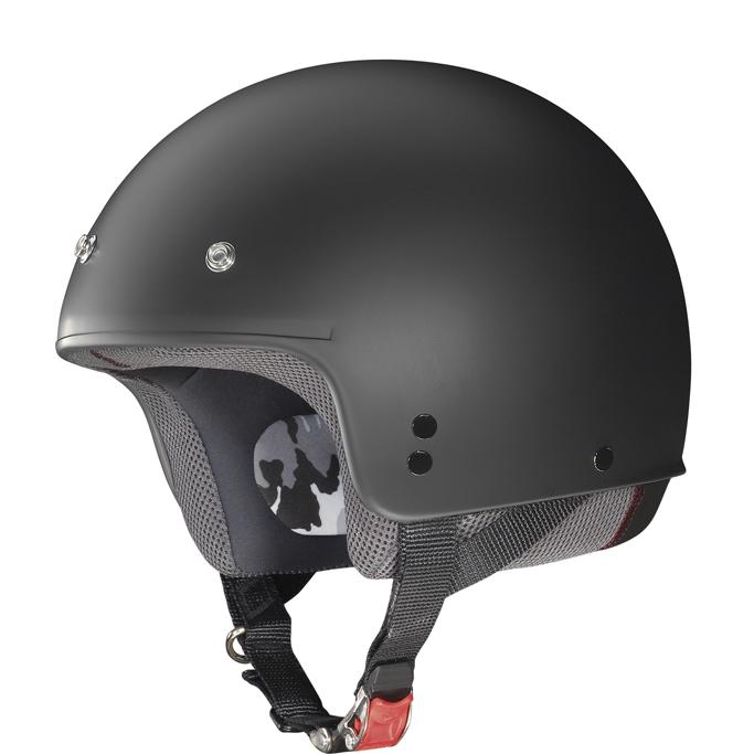 Helmet demi jet Grex G2.1 Club flat black