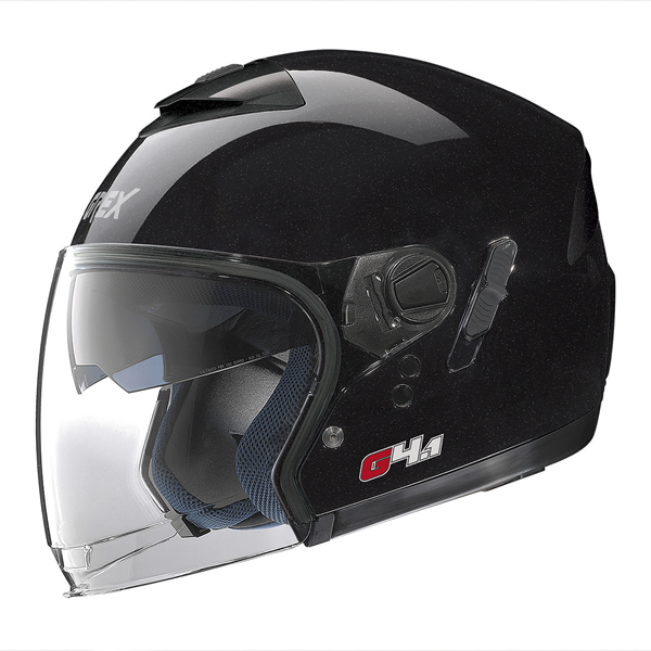 Grex G4.1 Kinetic jet helmet Black