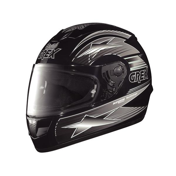 Grex G6.1 Decor full-face helmet black-grey