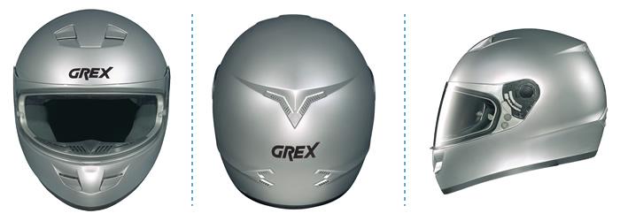 Casco integrale Grex G6.1 Flag bianco