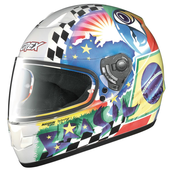 Helmet full-face Grex G6.1 Joy glossy white