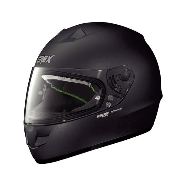 Grex G6.1 Kinetic full-face helmet black graphite