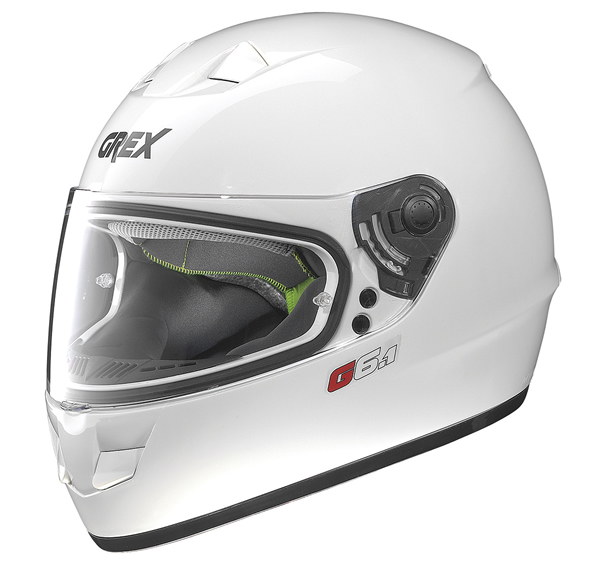 Grex G6.1 Kinetic full face helmet White