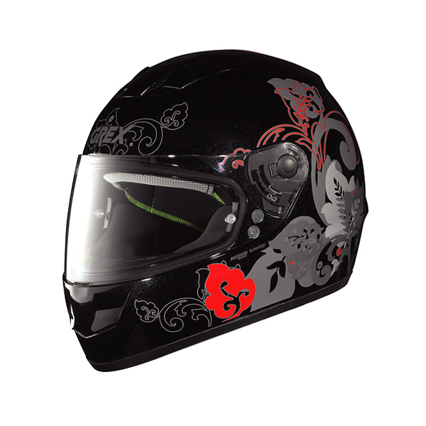 Grex G6.1 Mild full-face helmet metal black