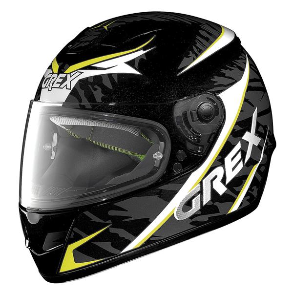 Grex G6.1 Mimesis full face helmet Black Yellow White