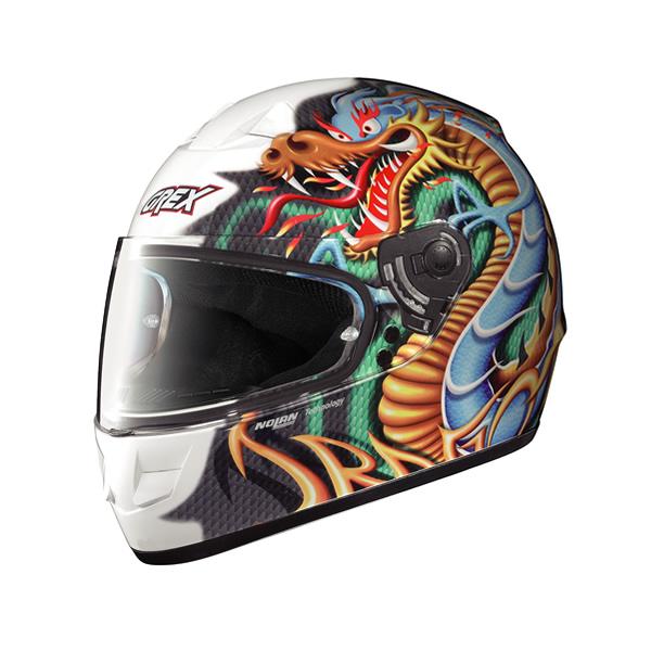 Grex G6.1 Myth full-face helmet glossy white13