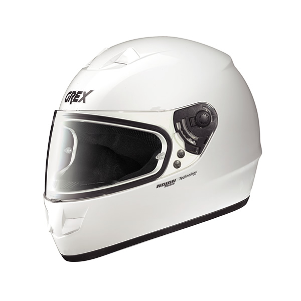 Grex G6.1 One full-face helmet white