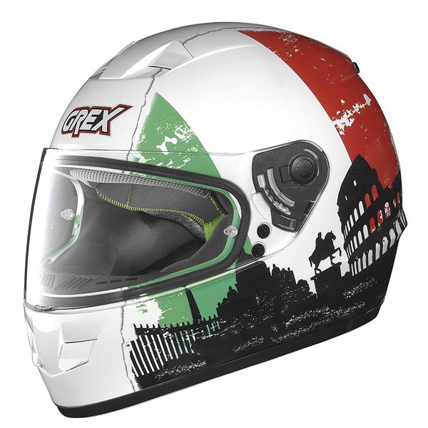 Grex G6.1 Urbex full face helmet White Italy
