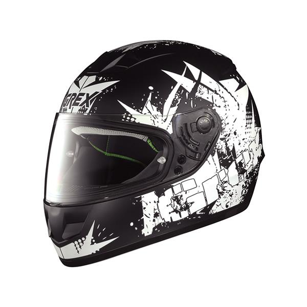 Grex G6.1 Whirl full-face helmet  flat black
